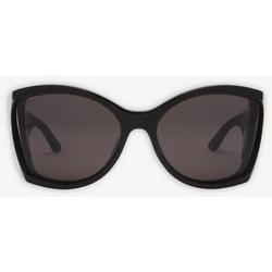 Void Butterfly Sunglasses - Black - Balenciaga Sunglasses