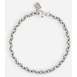 Silver Chain Necklace - Metallic - Dolce & Gabbana Necklaces