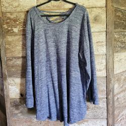 Torrid Sweaters | Nwot Torrid Plus Size Tunic Sweater | Color: Blue | Size: 4x