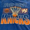 Adidas Shirts | New York Knicks T Shirt By Adidas | Color: Blue | Size: M