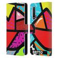 Head Case Designs Officially Licensed Britto Juicy Abstract Illustrations 2 Leather Book Wallet Case Cover Compatible with Huawei Nova 6 / 5G