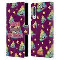 Head Case Designs Officially Licensed Emoji Sparkly Birthday Celebration Cases Leather Book Wallet Case Cover Compatible with Samsung Galaxy A90 5G (2019)