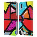 Head Case Designs Officially Licensed Britto Juicy Abstract Illustrations 2 Leather Book Wallet Case Cover Compatible with Sony Xperia L3