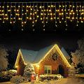 120 LED Curtain String Lights Fairy Light Waterproof in/Outdoor Party Wall Decor Outdoor String Lights String Lights Patio Lights Outdoor Lighting Outdoor Lights String Led String Lights