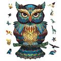 Unique Irregular Shape Jigsaw Puzzle, Animal Shape Puzzles, Jigsaw Puzzles Pressure Reliever Puzzle Games Wooden Animal Shaped Puzzle Pieces Set- 300 Pieces – 1016.54 in (254420mm) - Large