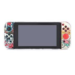 Hello Kitty Hello Kitty Hello Kitty The anti-scratchingcase for Nintendo Switch Protective Case Cover for Nintendo Switch and Hard Shell Protective Cover Joy-Con Controller NDS GAME accessories