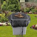 Londegeri 3 pcs Mesh Cover for Rain Barrels, Water Collection Buckets Tank Rain Harvesting Tool Protector, Keep Mosquitoes and Debris Out of Rain Barrel,Rain Barrel Cover Accessories 83cm
