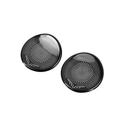 ihreesy 2 Pieces Speaker Grille Cover,Car Front Pillar Audio Speaker Cover Loudspeaker Decoration Protective Grille Replacement Fit for TeslaModel 3,Black