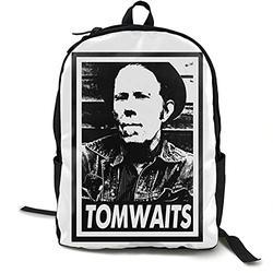 Casual Classic Backpack Tom Waits Shoulder Backpacks Packable Bags Bookbag Backpack Travel Hiking Camping Daypack Backpack for Men/Women