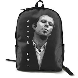 Casual Classic Backpack Tom Waits Shoulder Backpacks Waterproof Bags Business Backpack Travel Hiking Camping Daypack Backpack for Men/Women