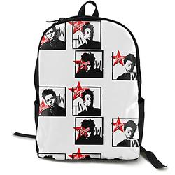 Casual Classic Backpack Tom Waits Shoulder Backpacks Packable Bags Business Backpack Travel Hiking Camping Daypack Backpack for Men/Women