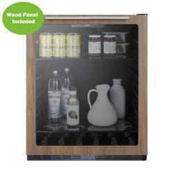 Summit Appliance 5 Cubic Feet cu. ft. Mini Fridge in Black/Brown, Size 32.0 H x 23.63 W x 24.88 D in   Wayfair AL57GWP1