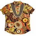 J. Crew Tops | J.Crew San Remo Print Muticolor Tunic Tops Size 6 | Color: Brown/Orange | Size: 6