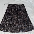 Urban Outfitters Skirts   New W Tags Urban Outfitters Silk Skirt Xs   Color: Black/Brown   Size: Xs
