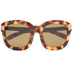 Square-frame Gold-tone And Tortoiseshell Acetate Sunglasses - Brown - Linda Farrow Sunglasses