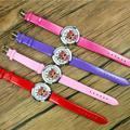 Montre-bracelet en cuir pour enfants, poupées LOL Surprise, cadran pour filles, montre à Quartz,