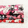 Tissu en coton épais imprimé chat, 45x110cm, matériel de couture, Patchwork, couture, bricolage, sac
