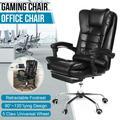 Chaise de bureau en cuir de Gaming, siège de bureau pivotant et réglable, pour ordinateur et Gaming