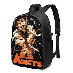The Adicts Travel Backpack with rain Cover, Waterproof Outdoor Travel Backpack One Size