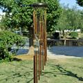 Attento Large 18 Tubes Wind Chime Chapel Bells Wind Chimes Door Hanging Home Decor Solar Chimes Chimes Home Decor Clearance Outdoor décor Home Decor Garden Decor Wind Chimes for Outside