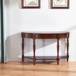 "Bloomsbury Market Abibat 48"" Console Table Wood in Brown, Size 30.0 H x 48.0 W x 18.0 D in | Wayfair 635EA22C214046B1A74D16C5B5329C09"