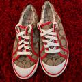 Coach Shoes | Coach Shoes Size 6 In Excellent Condition | Color: Red/Tan | Size: 6