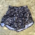 Lululemon Athletica Shorts   Lululemon Seawheeze Tracker Short Counter Culture   Color: Black/White   Size: 2