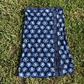 Michael Kors Swim | Michael Kors Strapless Tie Dye Swim Top | Color: Blue/White | Size: M