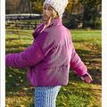 Free People Jackets & Coats   Corduroy Puffer Jacket   Color: Pink   Size: Xs