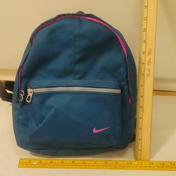 Nike Bags | Nike Small Backpack | Color: Blue/Pink | Size: Os