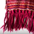 Free People Accessories | Free People Oversized Multicolor Scarf | Color: Pink | Size: Os
