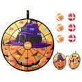 BESPORTBLE Halloween Dart Board Set Educational Plaything Round Dart Board Kit Dart Board Game Set for Holloween Gift
