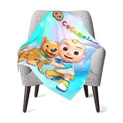 Yes i DO Cocomelon Baby Blanket for Kids Super Soft Blanket Fleece Toddler Blanket 30 x 40 Inch