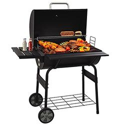 æ— 30 Barrel BBQ Grill, Multi-Function Stainless Steel Charcoal Barbecue Smoker, Barbecue Smokers Tool Kits for Outdoor Picnic Patio Backyard Camping Cooking