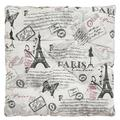 """Ophelia & Co. Square Seat Cushion Pad Cushion Thicken 16"""" Round Square Floor Window Cotton Chair Pad, Size 16.0 H x 16.0 W x 1.0 D in 