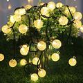 Solar String Lights Outdoor, 50 LED 31FT Solar Powered String Lights, IP65 Waterproof Outdoor String Lights for 8 Models, Garden Garden Decoration Light, LED Hanging String Lights (Multi-Color)