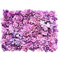 Flower Wall Simulation Background Premium Decorative Flower Panel Handmade Crafts Decor for Wall Wedding and Event Photographers Studio Props