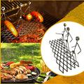 BVSLDN Barbecue Accessories, Barbecue Tools, Innovative Barbecue Tool Sticks, Spoof Metal Barbecue Forks for Outdoor Barbecue/BBQ Stick