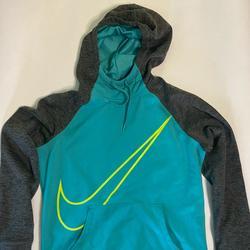 Nike Sweaters | Light Blue & Grey Medium Nike Sweater | Color: Blue/Gray | Size: M
