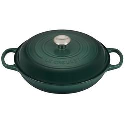 Le Creuset Enameled Cast Iron Round Braiser w/ Lid Cast Iron/Enameled in Gray, Size 5.25 H x 15.75 W in   Wayfair LS2532-30795SS
