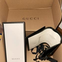 Gucci Storage & Organization   Gucci Shoe Box With 2 Bags   Color: Black/White   Size: Os