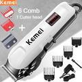 Kemei – Tondeuse à cheveux électrique,coupe de chevelure, machine professionnelle, sans fil, pour