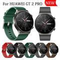 Bracelet de sport en cuir pour montre Huawei GT 2 Pro, Style officiel, Bracelet de rechange