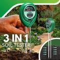 Testeur de sol 3 en 1, testeur de pH du sol, testeur d'humidité et d'acide du sol, testeur