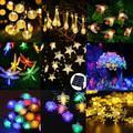 Guirlandes lumineuses de noël, lampes d'extérieur, lampes de sol de jardin pour la maison, lampe de