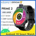 montre homme KOSPET PRIME 2 montre intelligente hommes 4GB 64GB montre connectée homme 13MP 1600mAh