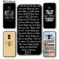 Krajews – coque de téléphone TV américaine, gris, anatomie, étui pour Samsung Galaxy S5 S6 S7 edge
