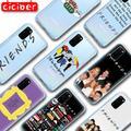 Amis TÉLÉVISION Souple TPU Étui de Téléphone pour Samsung Galaxy S21 S10 S9 S8 S20 Plus Ultra S10e