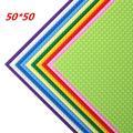 Plaque de Base de qualité 50x50 points, blocs de construction compatibles Legoed, bricolage, plaque