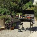 """Chunhelife Multi-Function Stainless Steel Charcoal 30"""" Barrel BBQ Grill Barbecue Smoker Barbecue Smokers Tool KitsFor Outdoor Picnic Patio Backyard Camping Coo"""